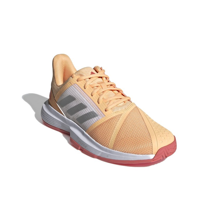 Adidas Tennis Shoes (W) – CourtJam Bounce (Orange)