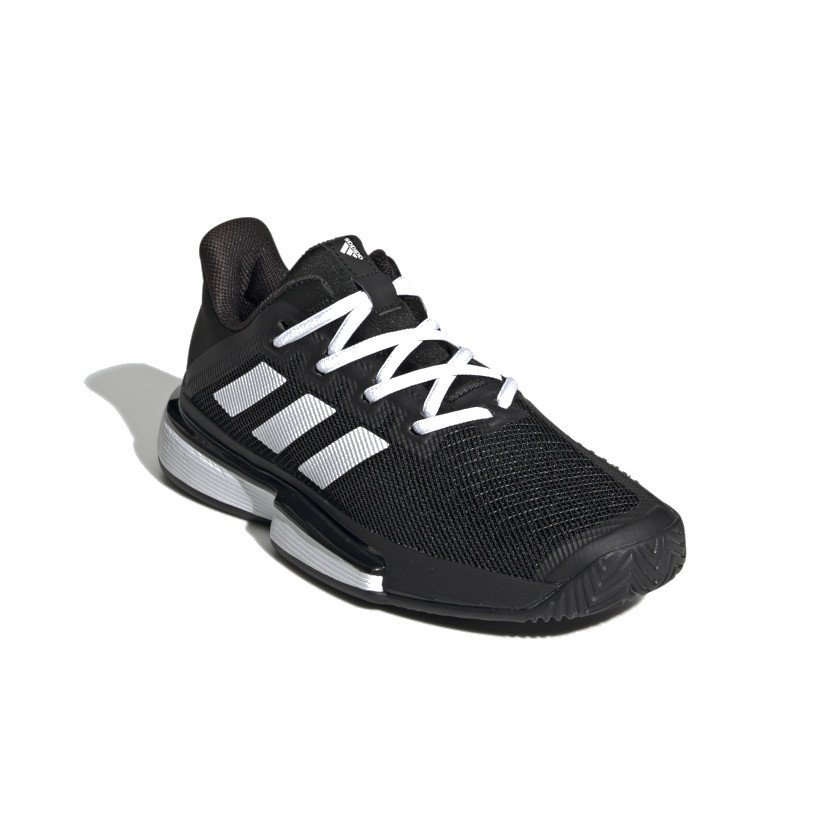 Adidas Tennis Shoes (W) – SoleMatch Bounce (Black)
