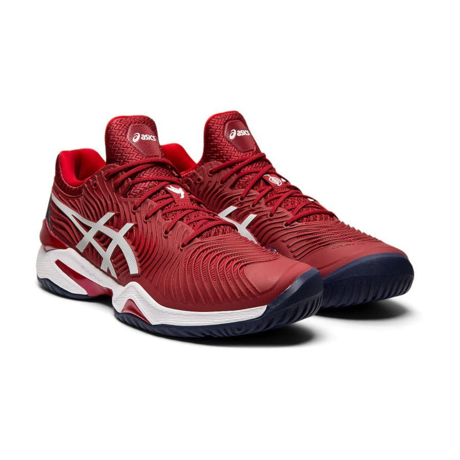 Asics Tennis Shoes (M) – COURT FF NOVAK (red)