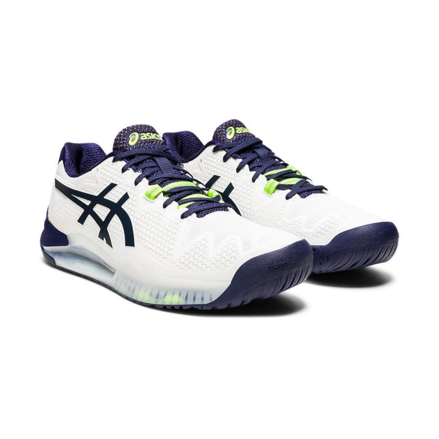 Asics Tennis Shoes (M) – Gel-Resolution 8 (white)