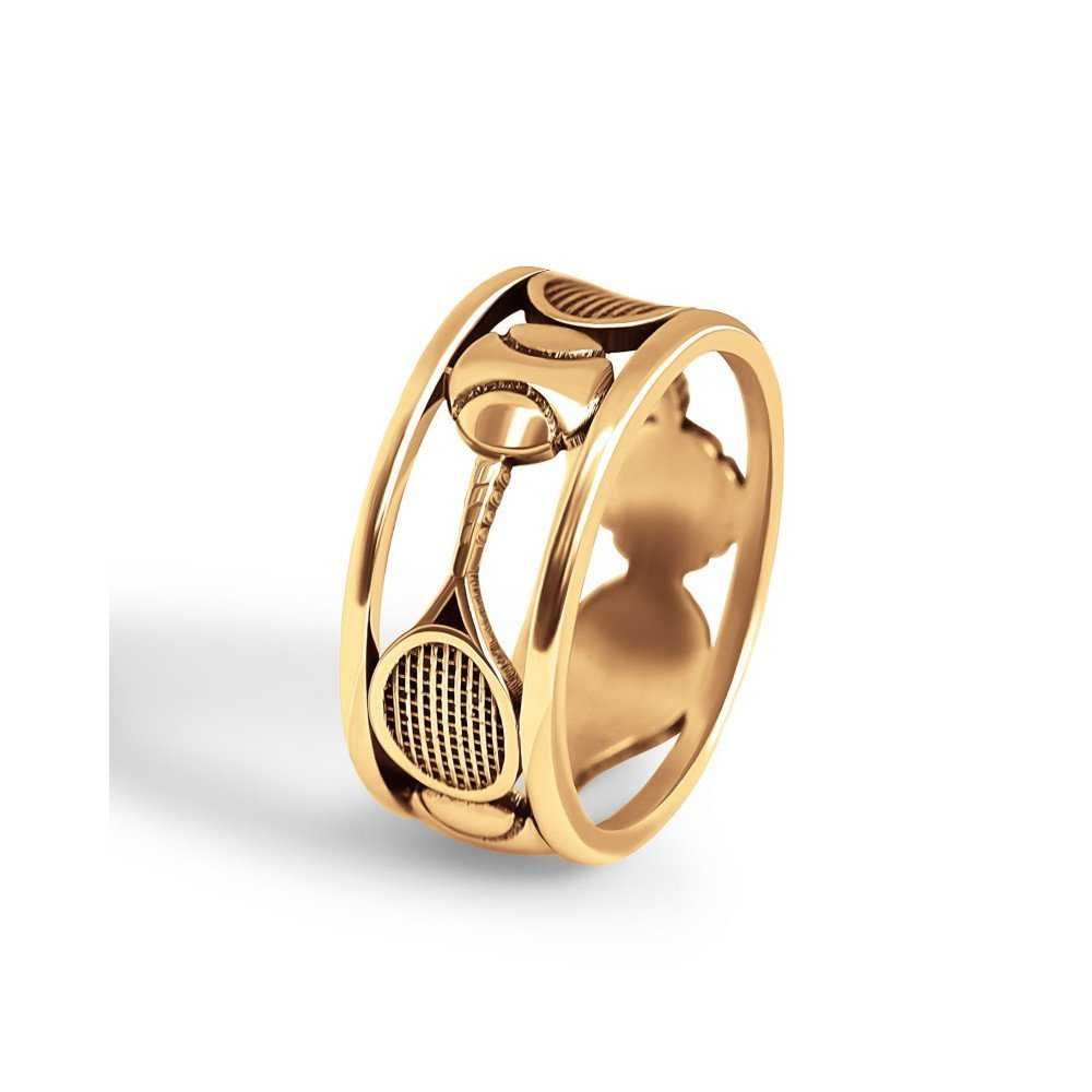 Gold Tennis Ring