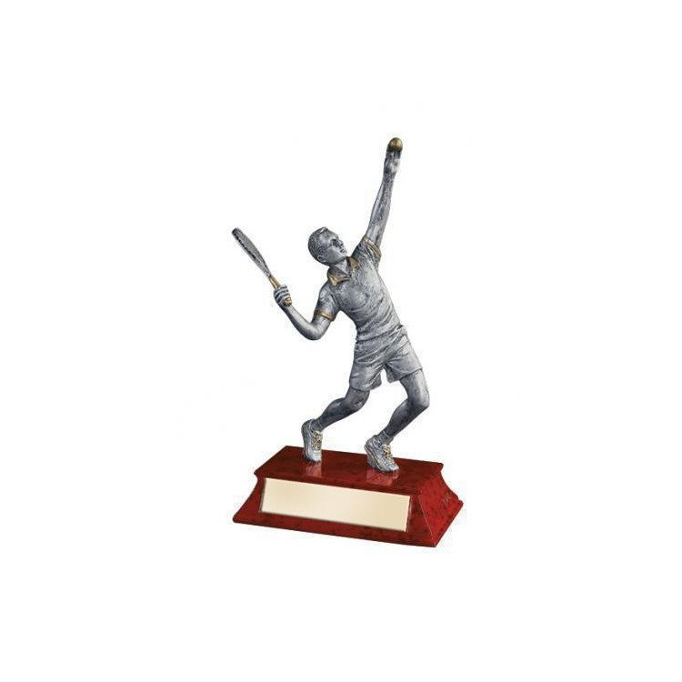 Resin Figurine Tennis Trophy