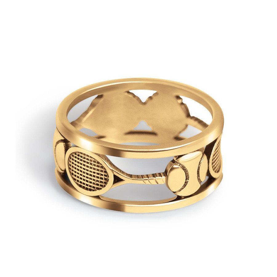 Tennis Ring – Gold