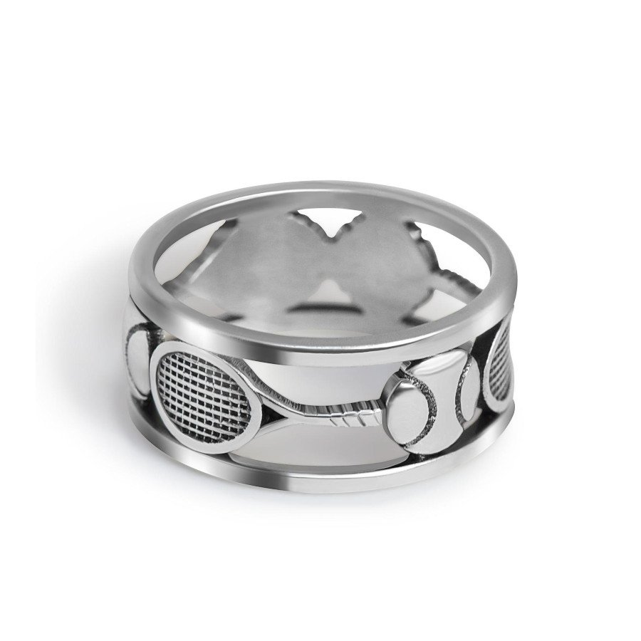 Tennis Ring – Sterling Silver