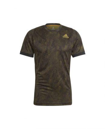 Adidas Tennis Clothing – Tennis Freelift Printed Primeblue Tee