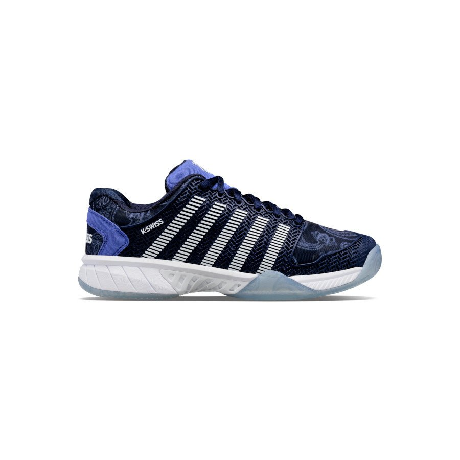 K-Swiss Tennis Shoes – MEN'S HYPERCOURT EXPRESS LE (PEACOAT : WHITE : XENON BLUE)