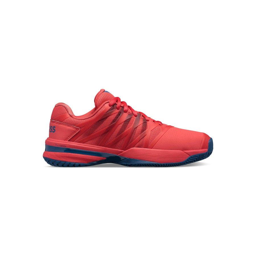 K-Swiss Tennis Shoes – MEN'S ULTRASHOT 2 (BITTERSWEET : DARK BLUE : BLACK)