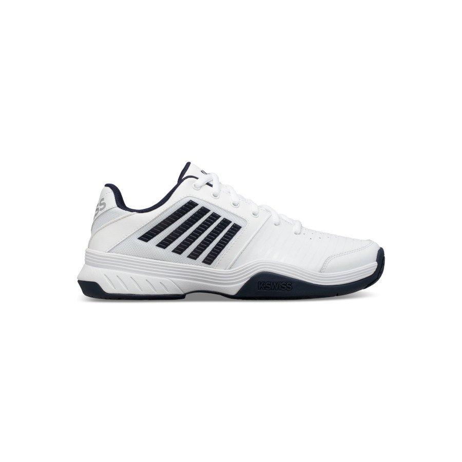 K-Swiss Tennis Shoes – Men's COURT EXPRESS (WHITE:NAVY)