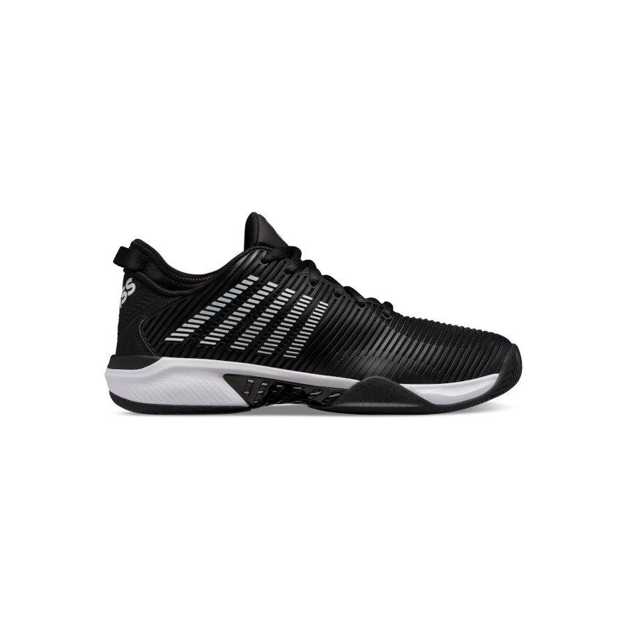 K-Swiss Tennis Shoes – Men's HYPERCOURT SUPREME (BLACK:WHITE)