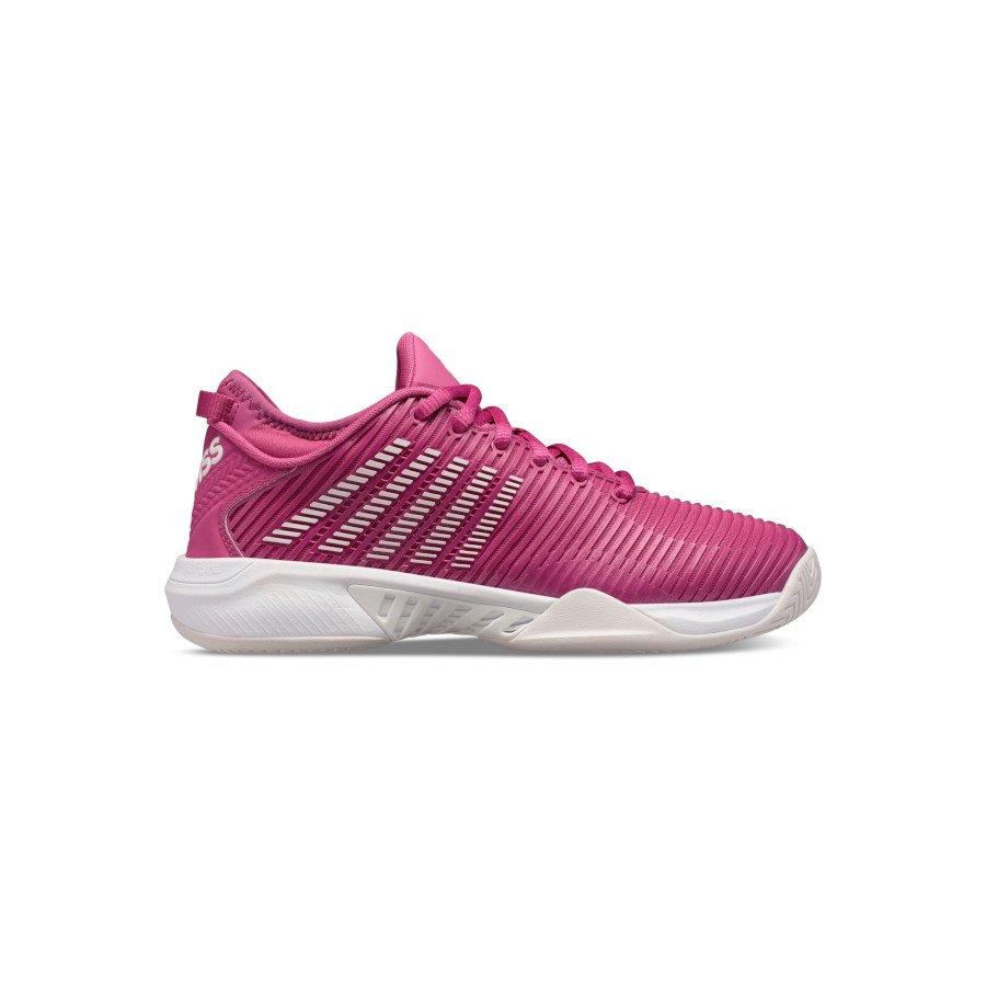 K-Swiss Tennis Shoes – Women's HYPERCOURT SUPREME CACTUS (FLOWER : NIMBUS CLOUD : WHITE)