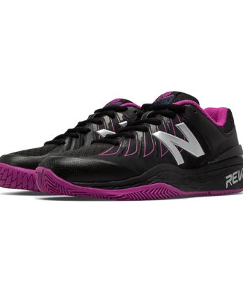 New Balance Tennis Shoes (Women) – New Balance 1006 (Black & Pink Zing)